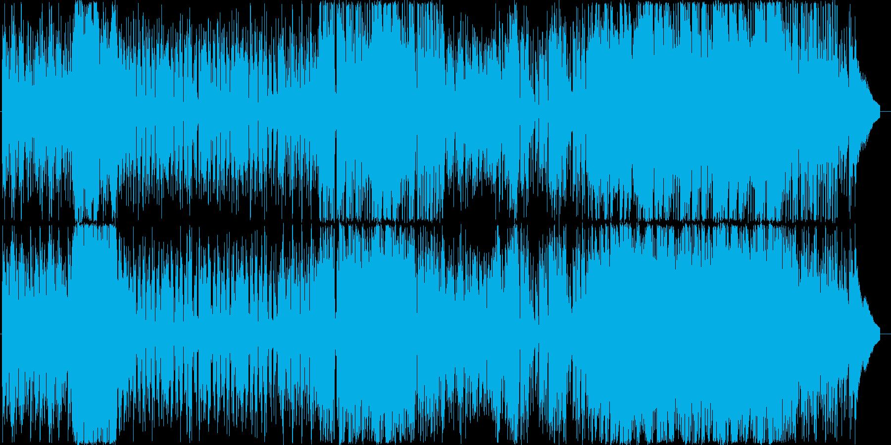 イベントのBGMなどにの再生済みの波形