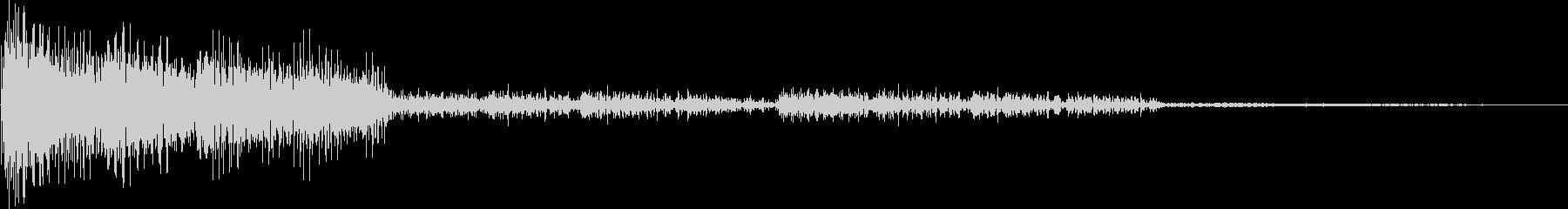 ピロロロン(スワイプ、パスワード)の未再生の波形