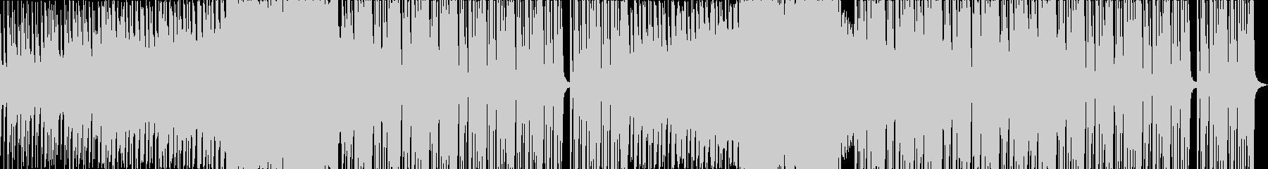 クールなHIPHOP、TRAPトラックの未再生の波形