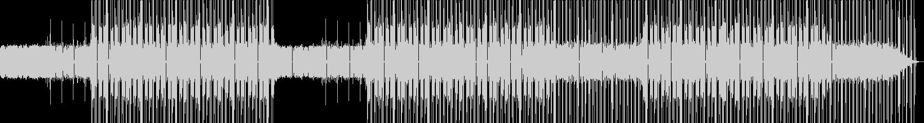 おしゃれなローファイヒップホップビートの未再生の波形