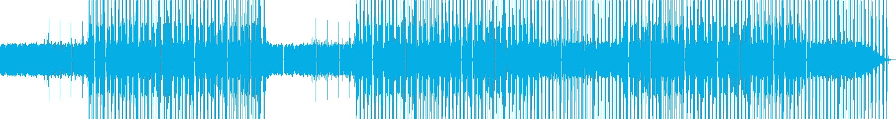 おしゃれなローファイヒップホップビートの再生済みの波形