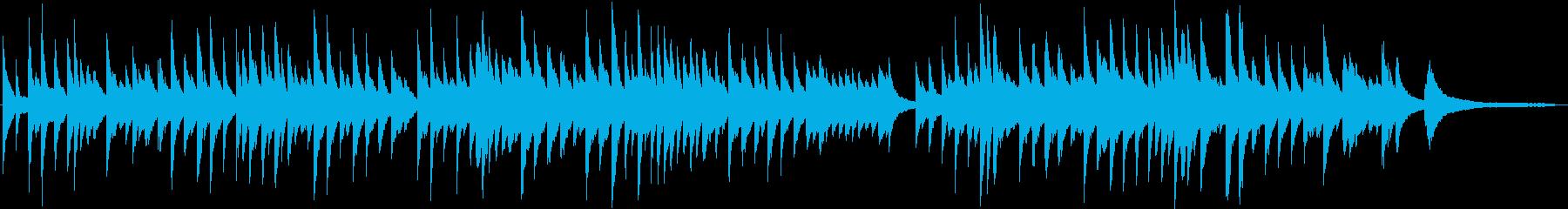 優しさ 温かさ ピアノソロの再生済みの波形