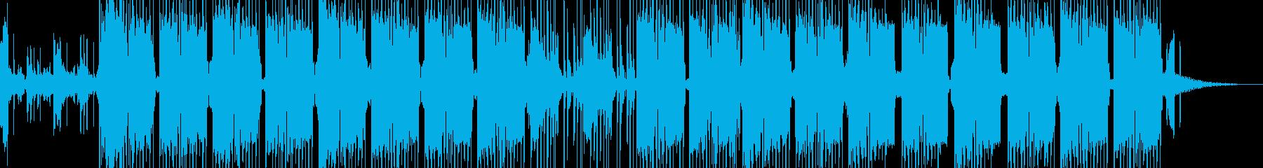 反復的なトランスのようなアンビエン...の再生済みの波形