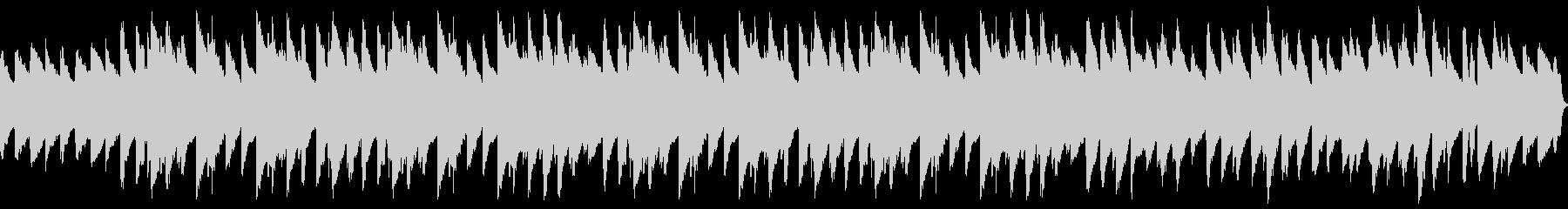 ラジオ体操的なソロピアノBGMの未再生の波形