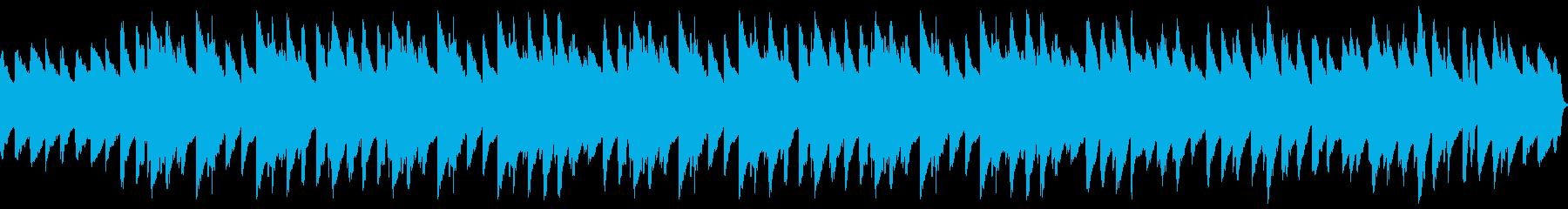 ラジオ体操的なソロピアノBGMの再生済みの波形