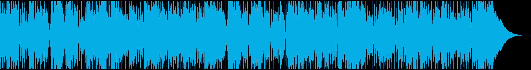 生音エレキギターの軽快でレトロなポップ曲の再生済みの波形