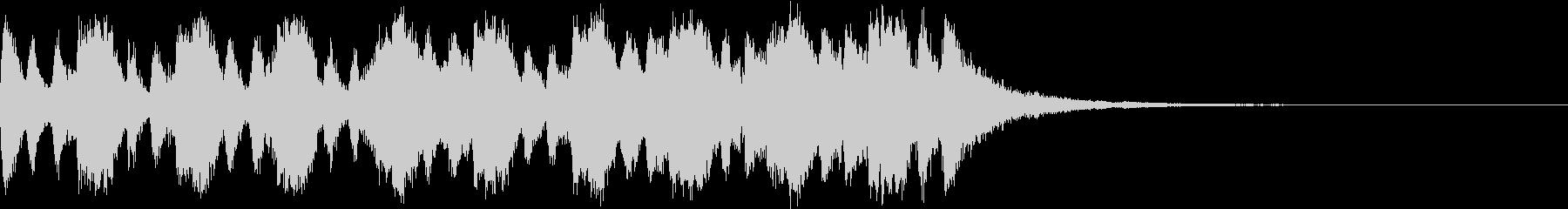 中世ファンタジー映画 エピックトレーラーの未再生の波形