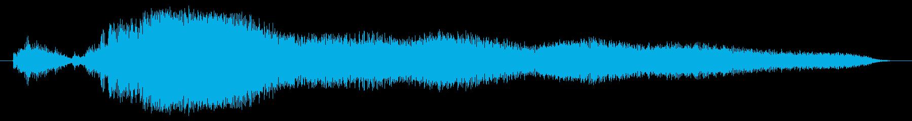 宇宙コンピューター画面テレメトリー...の再生済みの波形