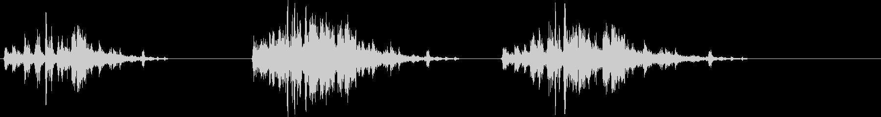 メタルフォールダウンステアズX3の未再生の波形