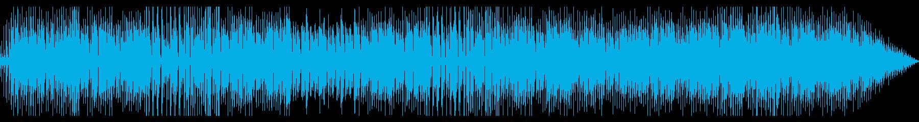 のんびりほんわかなインストの再生済みの波形