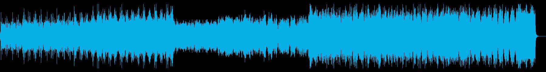 フルオーケストラ。壮大で堂々とした曲の再生済みの波形
