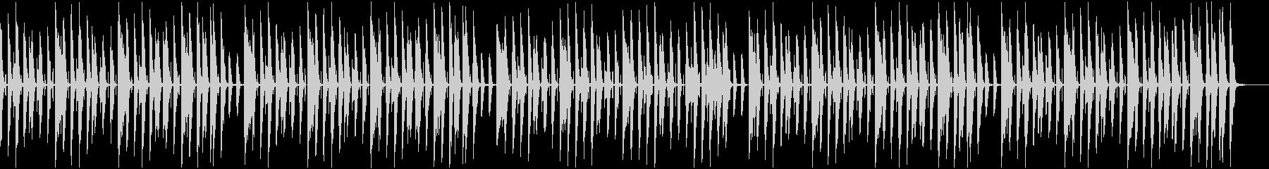 ほのぼの日常 ピアノ レシピ紹介シーンの未再生の波形
