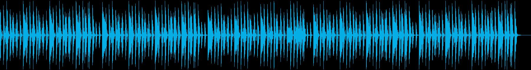 ほのぼの日常 ピアノ レシピ紹介シーンの再生済みの波形