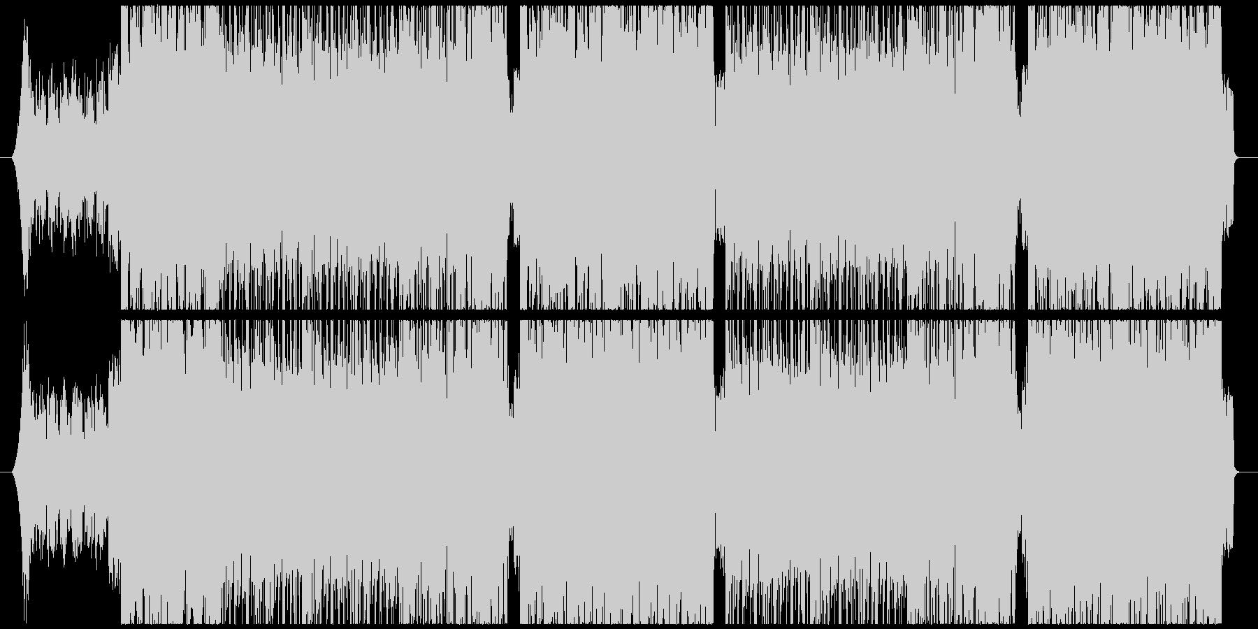 洋楽K-POPチルアウトトラックの未再生の波形