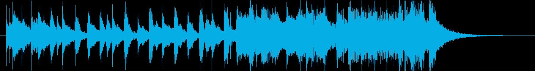 軽快爽やか楽しい夏ハワイレゲエラテン曲fの再生済みの波形