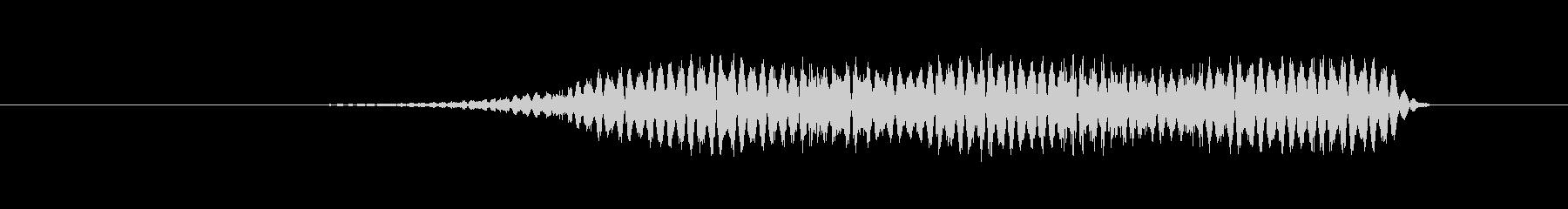 特撮 インターフェースビープ01の未再生の波形