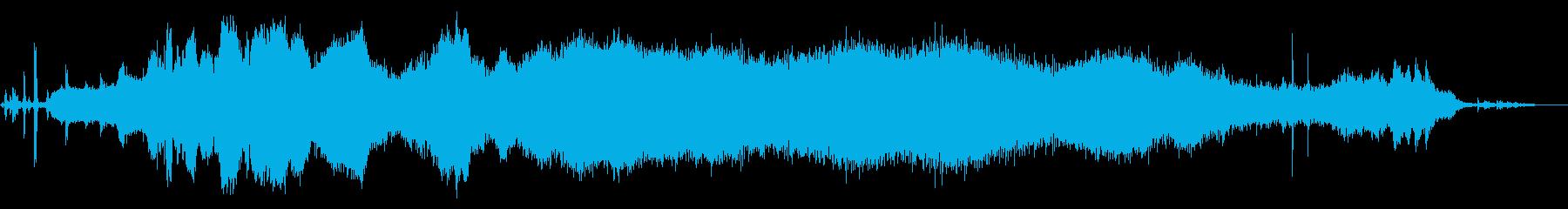電気自動車:Int:スタート、ハイ...の再生済みの波形