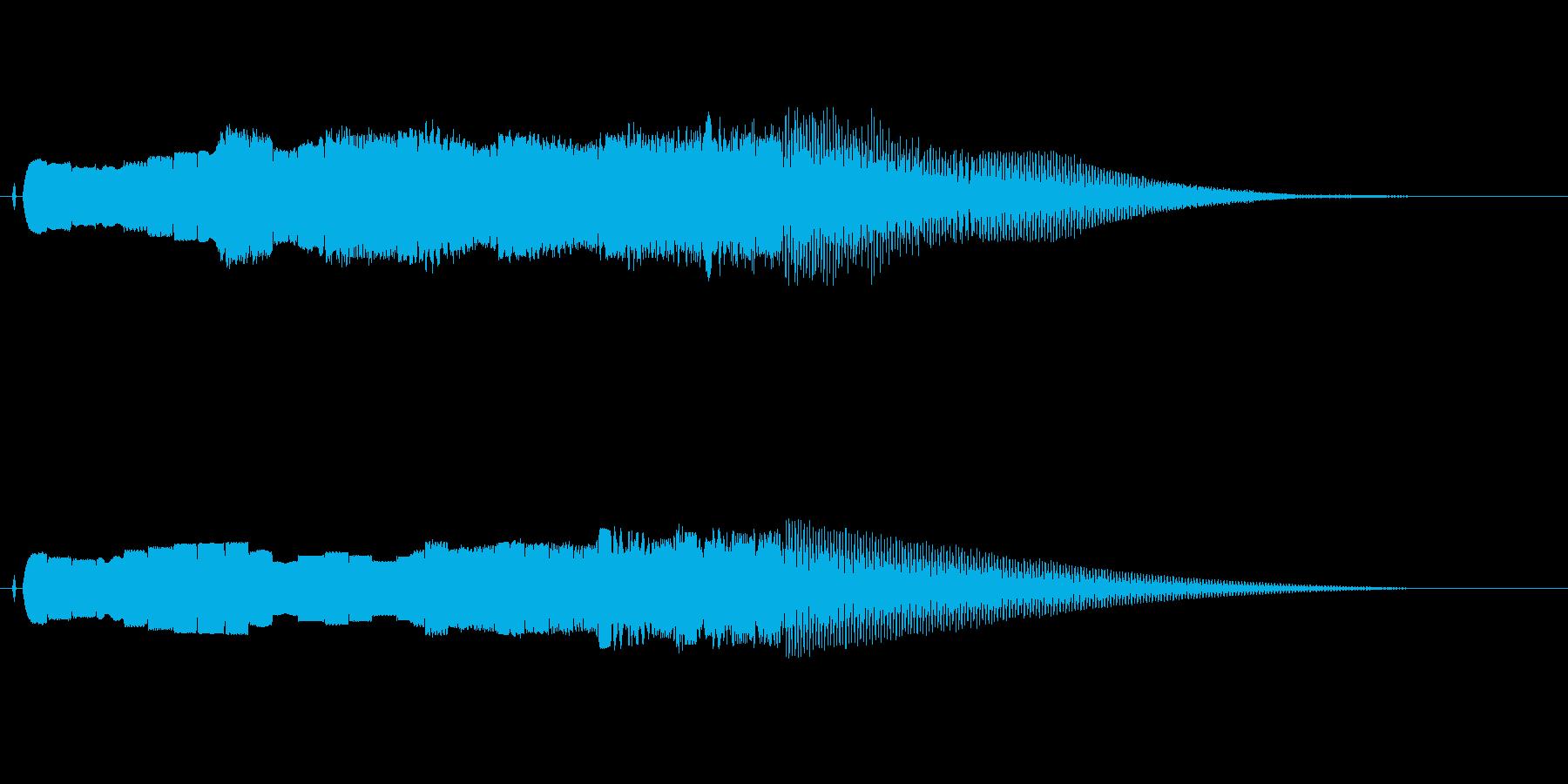 ピロリろりろりろスタート系の再生済みの波形