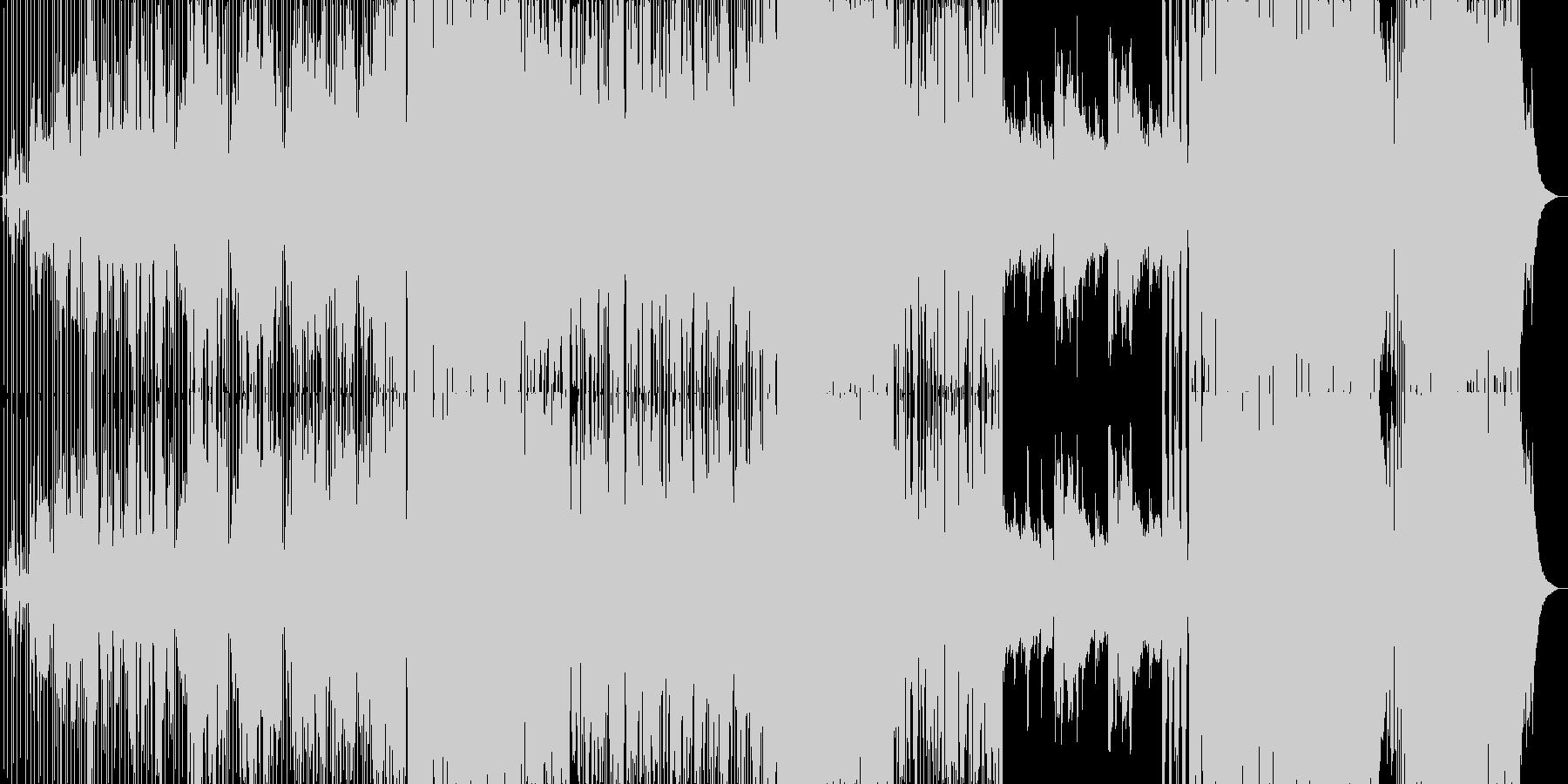 アコギが美しいバラードの未再生の波形