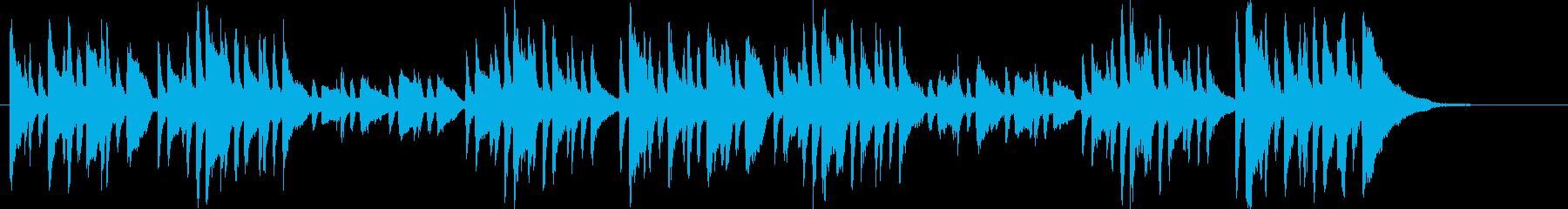 交響的練習曲よりフィナーレ(シューマン)の再生済みの波形