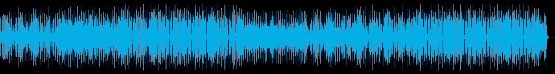 80年代風ファンクの再生済みの波形