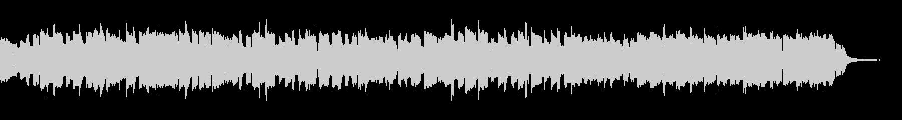 ファミコン風のピコピコBGMの未再生の波形