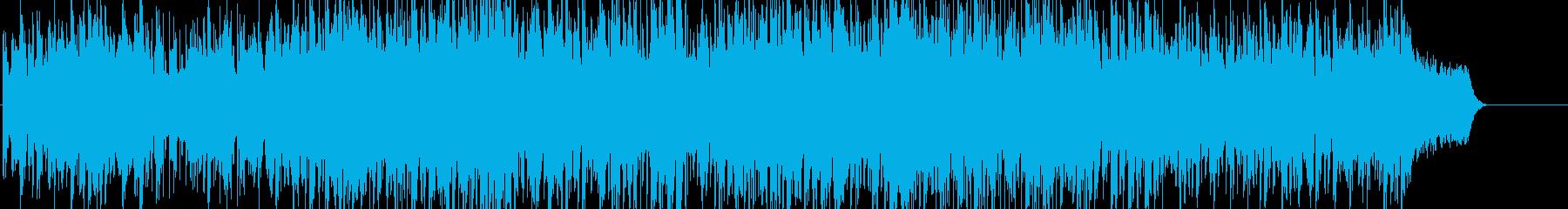 アコギメロが特徴のおしゃれで軽快なBGMの再生済みの波形