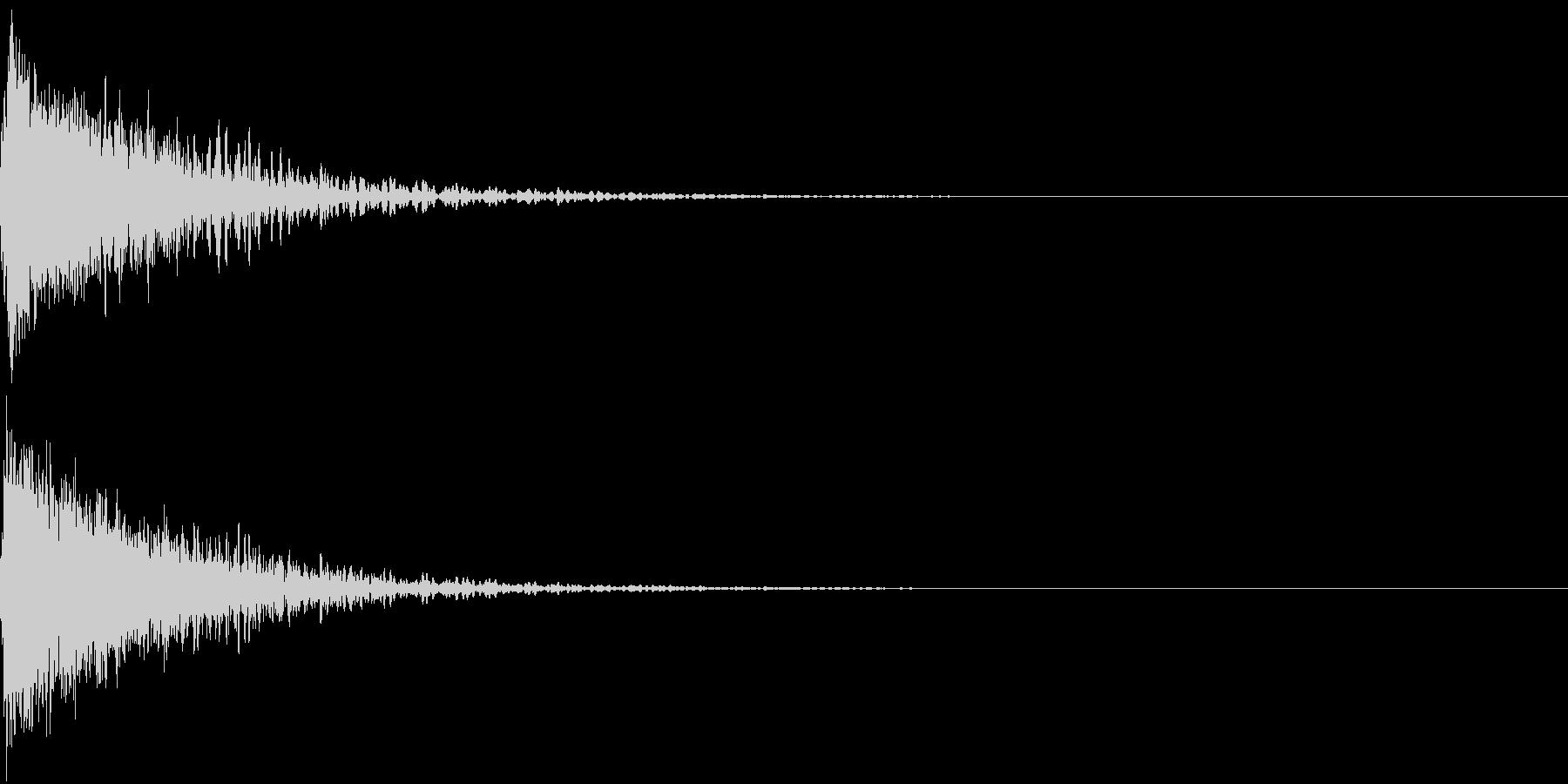 ロボット 合体 ガシーン キュイン 30の未再生の波形