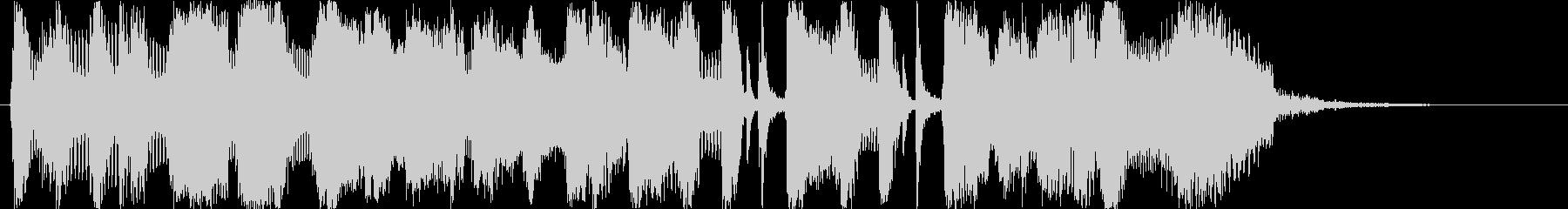 ビッグバンドジャズ15秒CMの未再生の波形