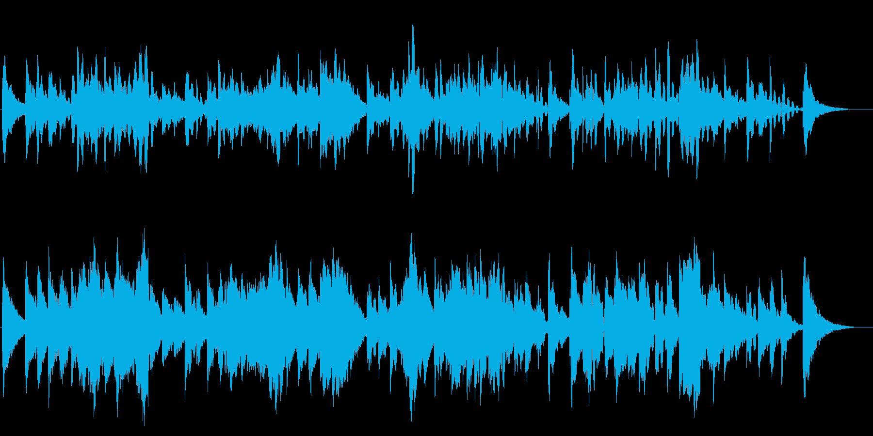 エレピ独奏曲です。ゆったりと一日が始ま…の再生済みの波形