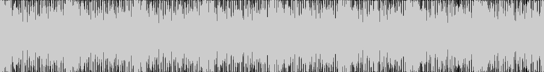 【ループ】ベース、スラップ、疾走感の未再生の波形