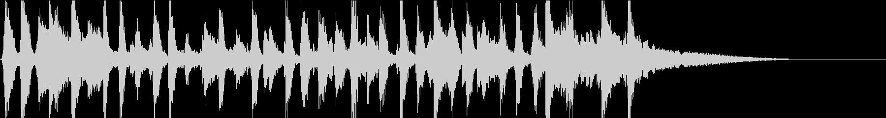 軽快なオールドスタイルジャズジングルの未再生の波形