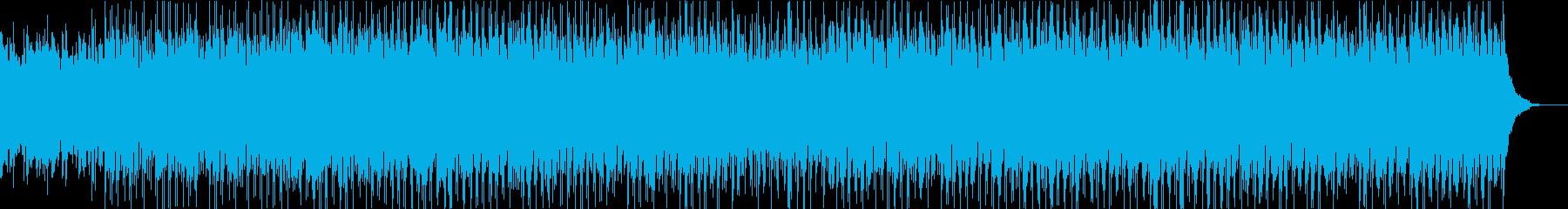 ピュアでキュートなオリジナルボサノバ曲の再生済みの波形