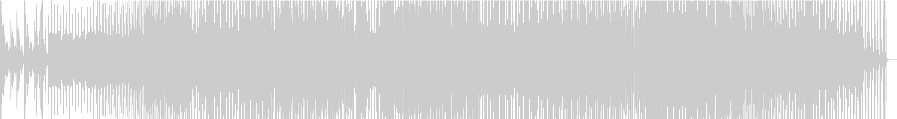 スローなJpop風浮遊感のあるバラードの未再生の波形