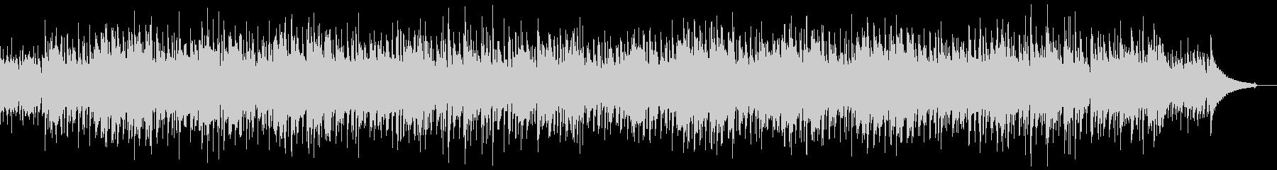 コーヒーブレイクに合うボサノバBGMの未再生の波形
