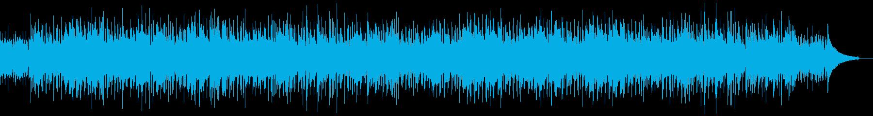 コーヒーブレイクに合うボサノバBGMの再生済みの波形