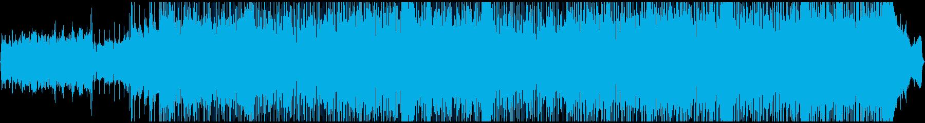 陽気なブラスセクション・ハードロックの再生済みの波形
