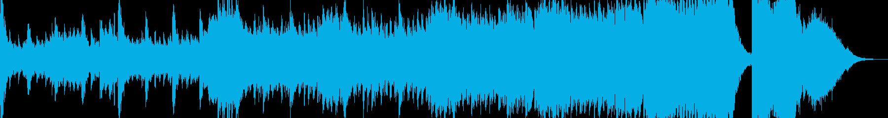 ストリングスの迫力が凄まじいクラシックの再生済みの波形