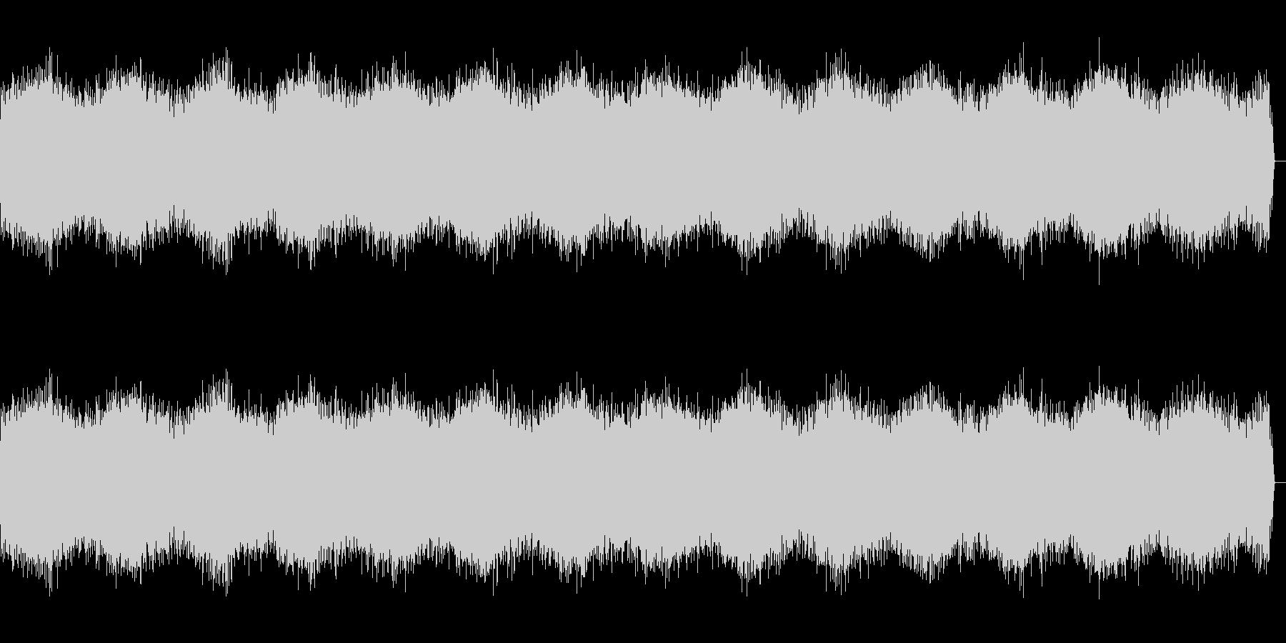 効果音、 電流① の未再生の波形