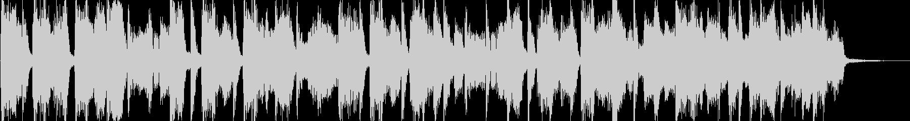 R&B風の短いポップジングルの未再生の波形