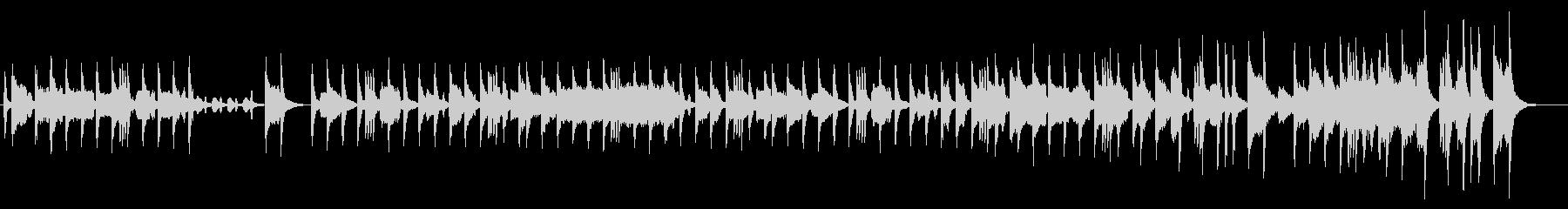 バイオリンとアコーディオンの短調のタンゴの未再生の波形