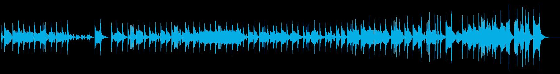 バイオリンとアコーディオンの短調のタンゴの再生済みの波形