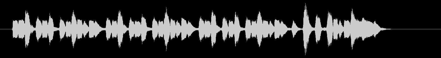 サックス&ストリングスによるジングルの未再生の波形