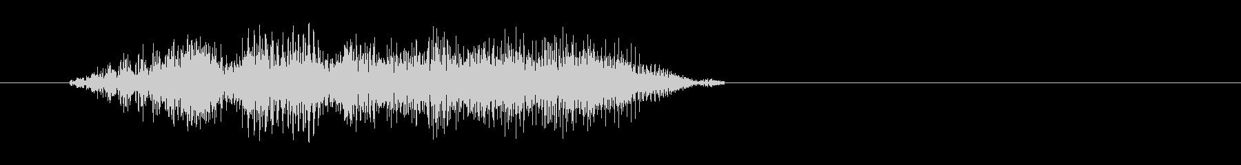 チュイッ(シンプルでレトロな選択音)の未再生の波形