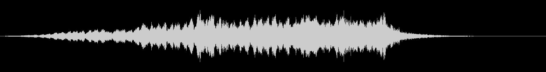SWELL ゲート逆ノイズスウェル05の未再生の波形