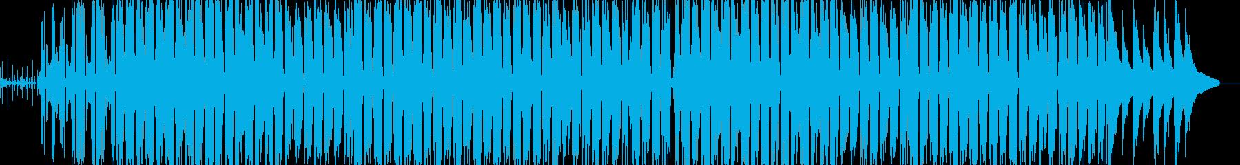 ジムノペディ1番のアップテンポアレンジの再生済みの波形