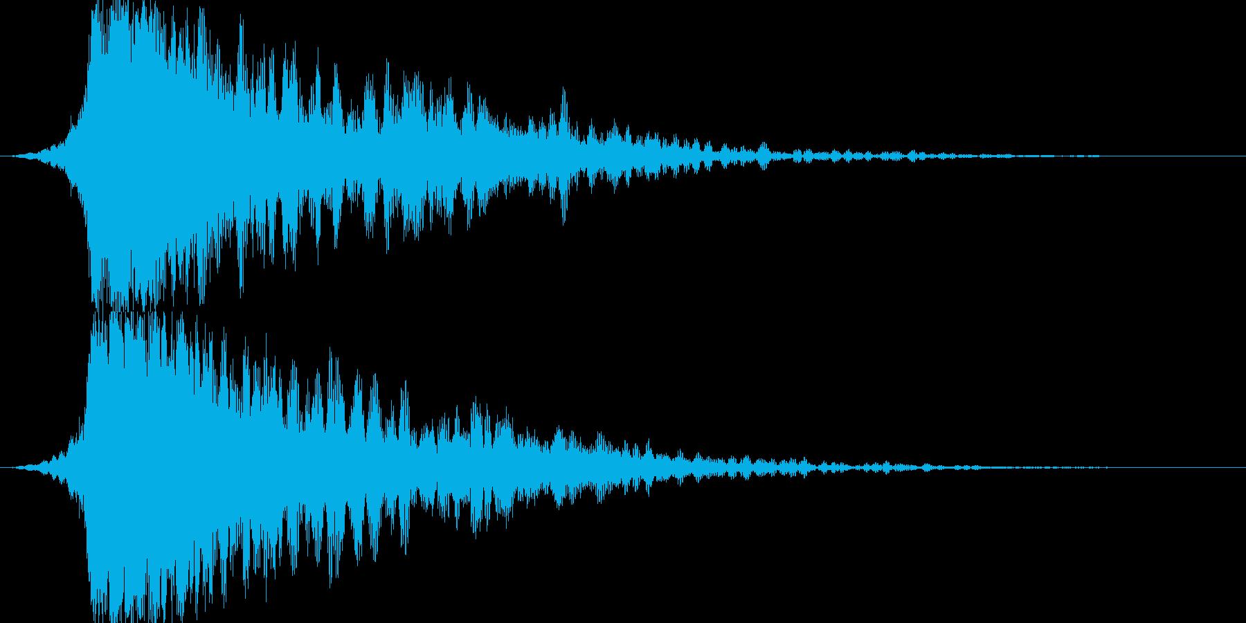あの特殊な☆魔法☆効果音の第3弾です!の再生済みの波形