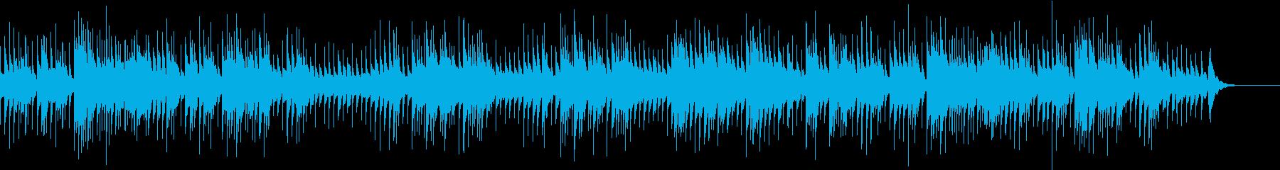 可愛らしくてポップなメロディのオルゴールの再生済みの波形
