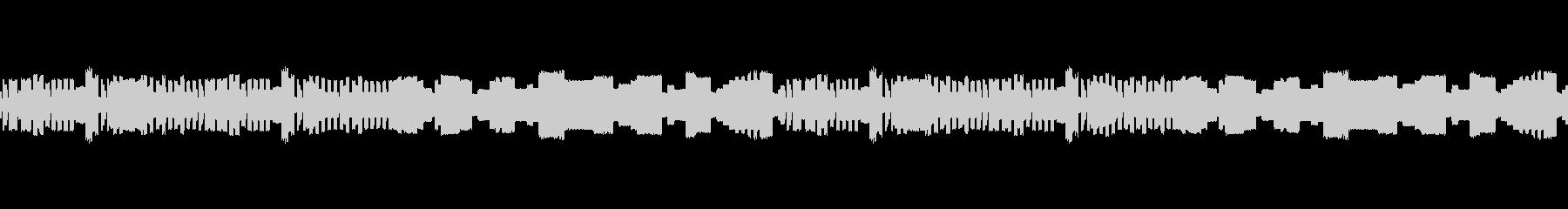 元気なピコピコ音のゲーム音楽の未再生の波形
