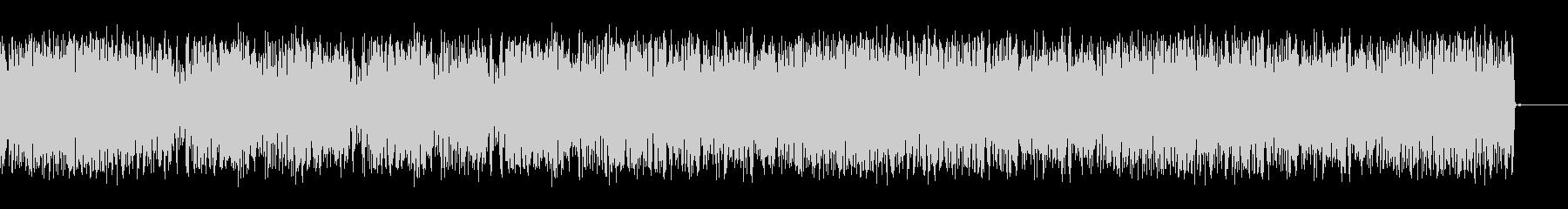 ホイッピング静的スワイプ7の未再生の波形